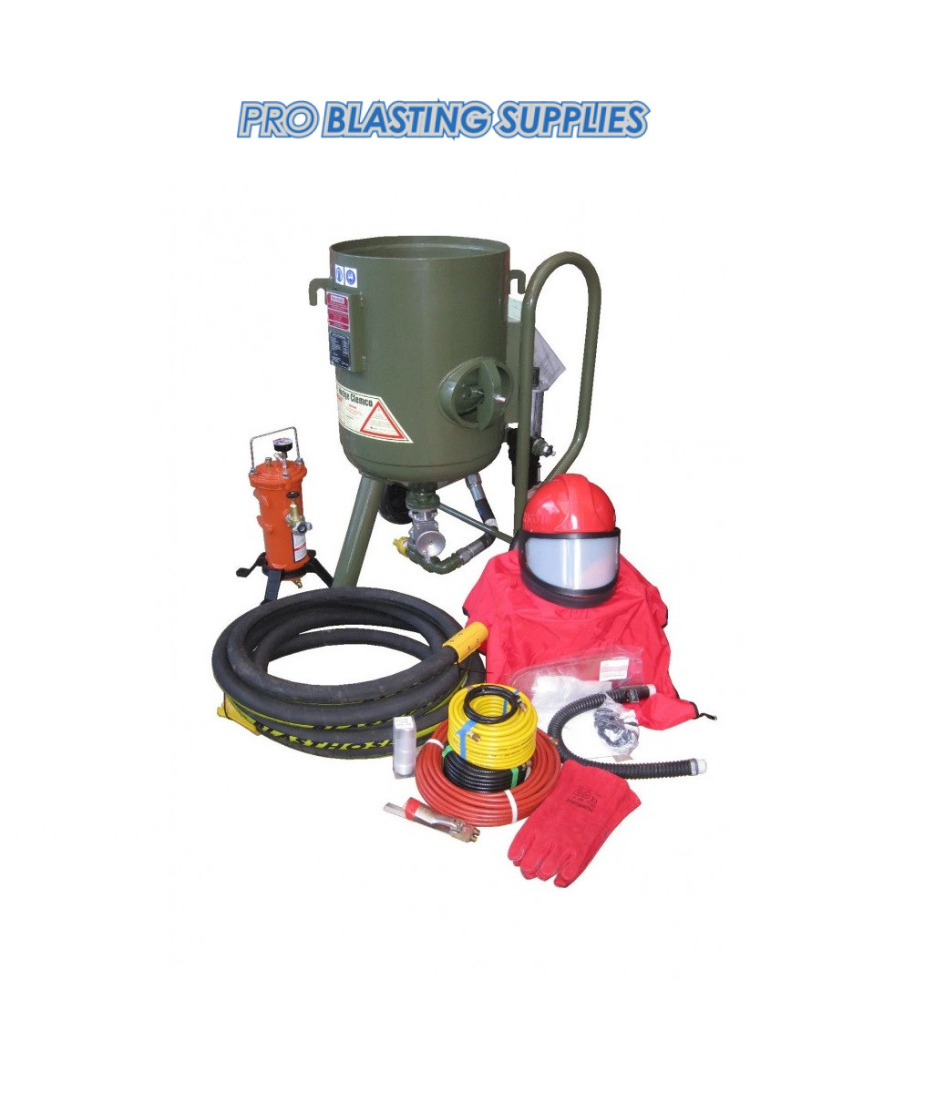 Hodge Clemco 2040 Contractor Blast Pot Package