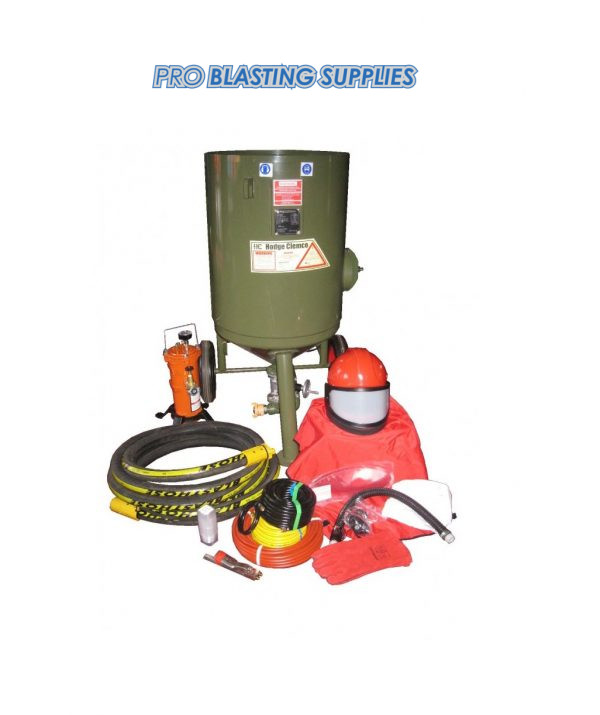 Hodge Clemco 2452 Contractor Blast Pot Package