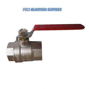 "1 1/4"" BSP ball valve (choke valve)"